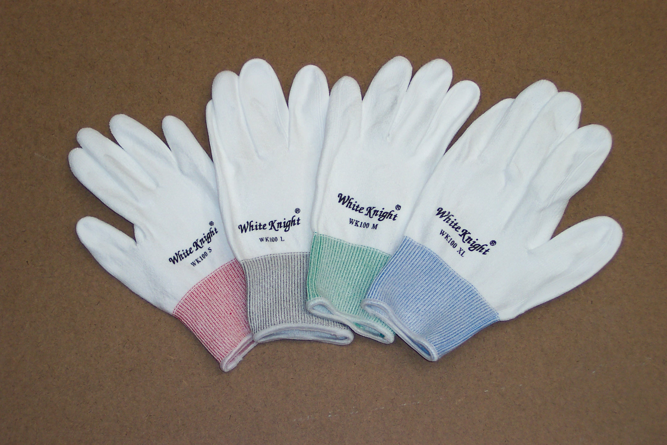 White Knight gloves